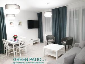 A seating area at Chopina 29 Sopot Apartments