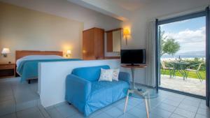 Een zitgedeelte bij Palatia Village Hotel Apartments