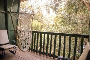 Ein Balkon oder eine Terrasse in der Unterkunft Amazonia Jungle Hotel