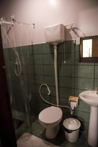Ein Badezimmer in der Unterkunft Amazonia Jungle Hotel