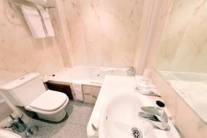 A bathroom at Hotel Vijanera