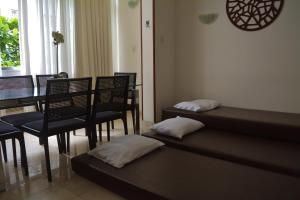 A bed or beds in a room at Rio Copa 6
