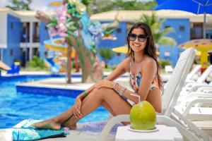 The swimming pool at or near Hotel Brisa da Praia
