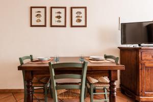 Zona pranzo nel residence