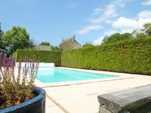 The swimming pool at or near Fairy-tale Apartment in Oudesluis with private Swimming Pool