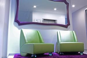 A seating area at Hotel Vista Hermosa