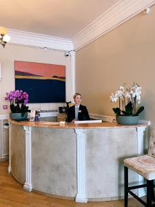 Лобби или стойка регистрации в Норд Стар Отель