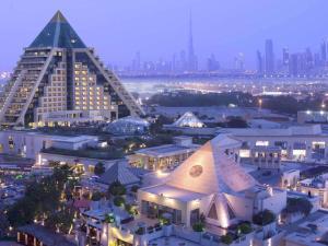 A bird's-eye view of Raffles Dubai