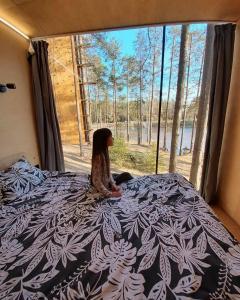 Кровать или кровати в номере Greenvald Park Scandinavia