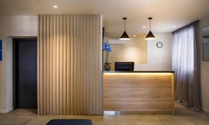 The lobby or reception area at Hotel Mediteran - Liburnia