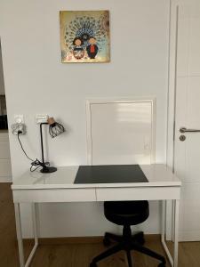 Salle de bains dans l'établissement Au 4qK Studio 2 pers Strasbourg Kléber Halles