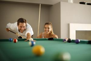 A pool table at Rubin Sunny Hotel by Valamar