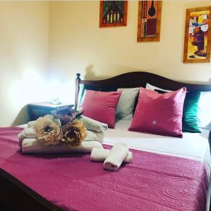 Letto o letti in una camera di Hotel Costa Blu