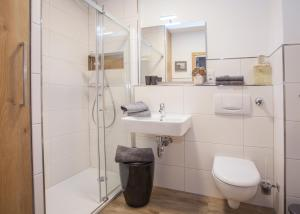 A bathroom at Ferienwohnung Winterberg-Perle