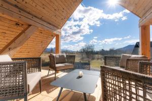 A balcony or terrace at Apartment Wellness Essense