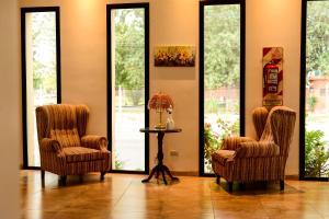 Un lugar para sentarse en Las Moras Catriel