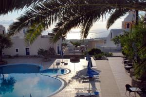 A view of the pool at Anatoli Hotel or nearby