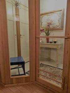 Een badkamer bij B&B De BonAparte