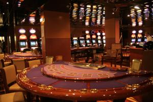 A casino in the hotel or nearby