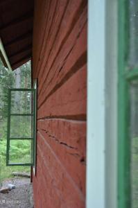 En balkong eller terrass på Ullaberg