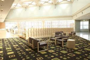 The lounge or bar area at Hotel Keihan Kyobashi Grande