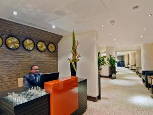 The lobby or reception area at The Montcalm Marble Arch