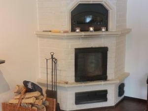 TV tai viihdekeskus majoituspaikassa Guesthouse Husky