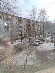 Апартаменты на прудах зимой
