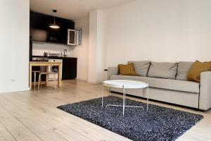 A seating area at New apartment golden square