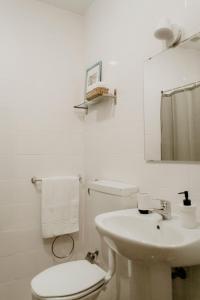 A bathroom at Residencial Avenida