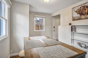 A bed or beds in a room at 1BR Getaway, Ivywild Neighborhood