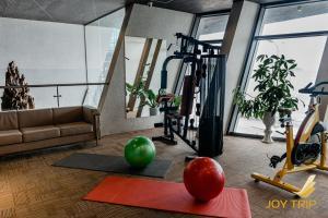 Phòng/tiện nghi tập thể dục tại Joy Trip Hotel Nha Trang