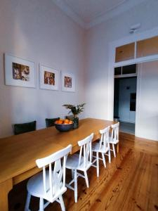 Dining area at the hostel