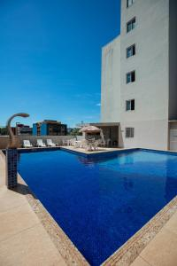 The swimming pool at or near Hotel Baviera Iguassu