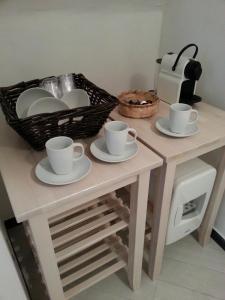 A kitchen or kitchenette at La Perla delle 5 Terre