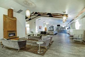 Lobby/Rezeption in der Unterkunft Desert Rose Resort