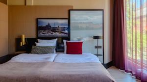 Letto o letti in una camera di Marski by Scandic
