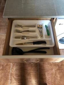 Кухня или мини-кухня в Отель Искра