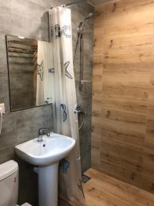 Ванная комната в Отель Искра