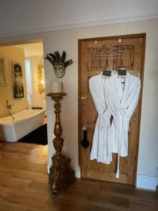 A bathroom at Olivia House