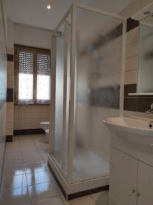 A bathroom at Casa Di Roma