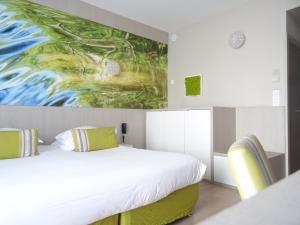 Un ou plusieurs lits dans un hébergement de l'établissement Domaine de la Petite Isle - Luberon