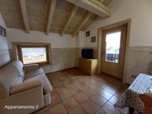 Posezení v ubytování Appartamenti Lorenza