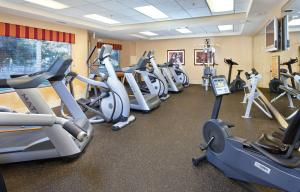 The fitness center and/or fitness facilities at Vino Bello Resort