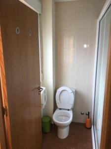 A bathroom at Albergue o Apalpador