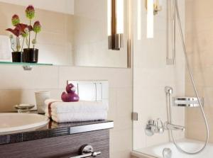 Un baño de AMERON Luzern Hotel Flora