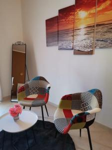 Area soggiorno di Nenetta Rooms & Suites