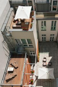A balcony or terrace at Safestay Vienna