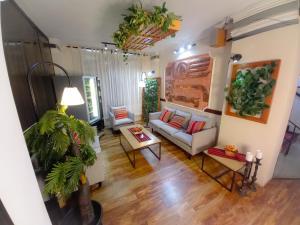 ホテル サガルナガにあるシーティングエリア
