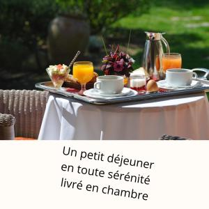 Breakfast options available to guests at Lodge de Charme A Cheda